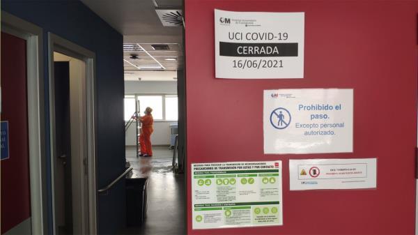 Cierra la UCI COVID del Hospital de Fuenlabrada, ¡tras más de un año!