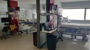 Según datos recogidos por los profesionales, en algunos hospitales hay 245 pacientes covid cuando hace un año había 88
