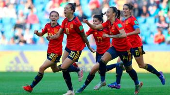 Misa Rodríguez, Marta Corredera, Ivana Andrés, Maite Oroz y Marta Cardona buscarán llevar a España a la Eurocopa 2022