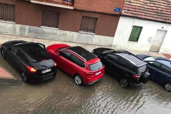 Ciudadanos considera que Fuenlabrada no está preparada para combatir las inundaciones