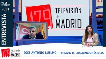 El portavoz de la formación naranja en Móstoles, José Antonio Luelmo, repasa las polémicas que asolan el municipio