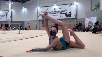La gimnasta participó junto al resto del equipo en 1ª fase de la Liga Iberdrola en Segunda División