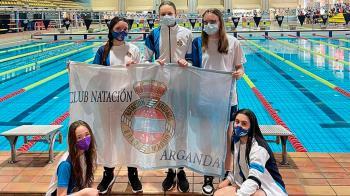 Las chicas consiguen colocarse entre las mejores de Madrid con las brillantes participaciones en las distintas categorías