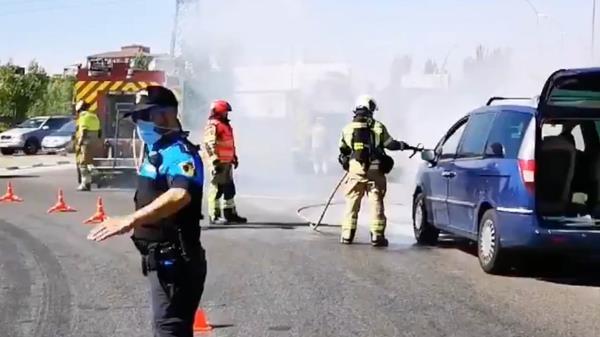 El incendio no provocó ningún herido
