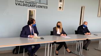 Nadia Álvarez, candidata popular número 24, visita Alcobendas y habla de la Ley Celáa