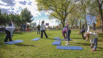 La Concejalía de Deportes lanza un programa piloto para impartir clases al aire libre. Para alumnado ya inscrito en combifitness o musculación, gratuito