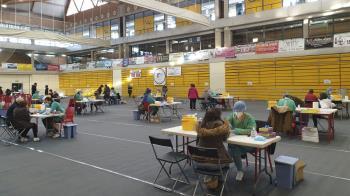 Un total de 6.684 personas que pasarán por la Ciudad Deportiva Príncipe Felipe hasta el viernes 19 de febrero