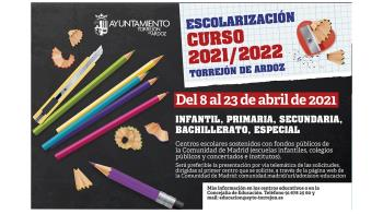 Hasta el 23 de abril permanecerá abierto el periodo de escolarización en las escuelas infantiles, colegios públicos y concertados y en los institutos de la Comunidad de Madrid