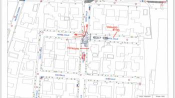 El tráfico quedará cortado en las dos zonas afectadas hasta su finalización