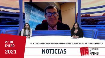 El concejal de Educación, Isidoro Ortega, nos lo cuenta en Televisión de Madrid