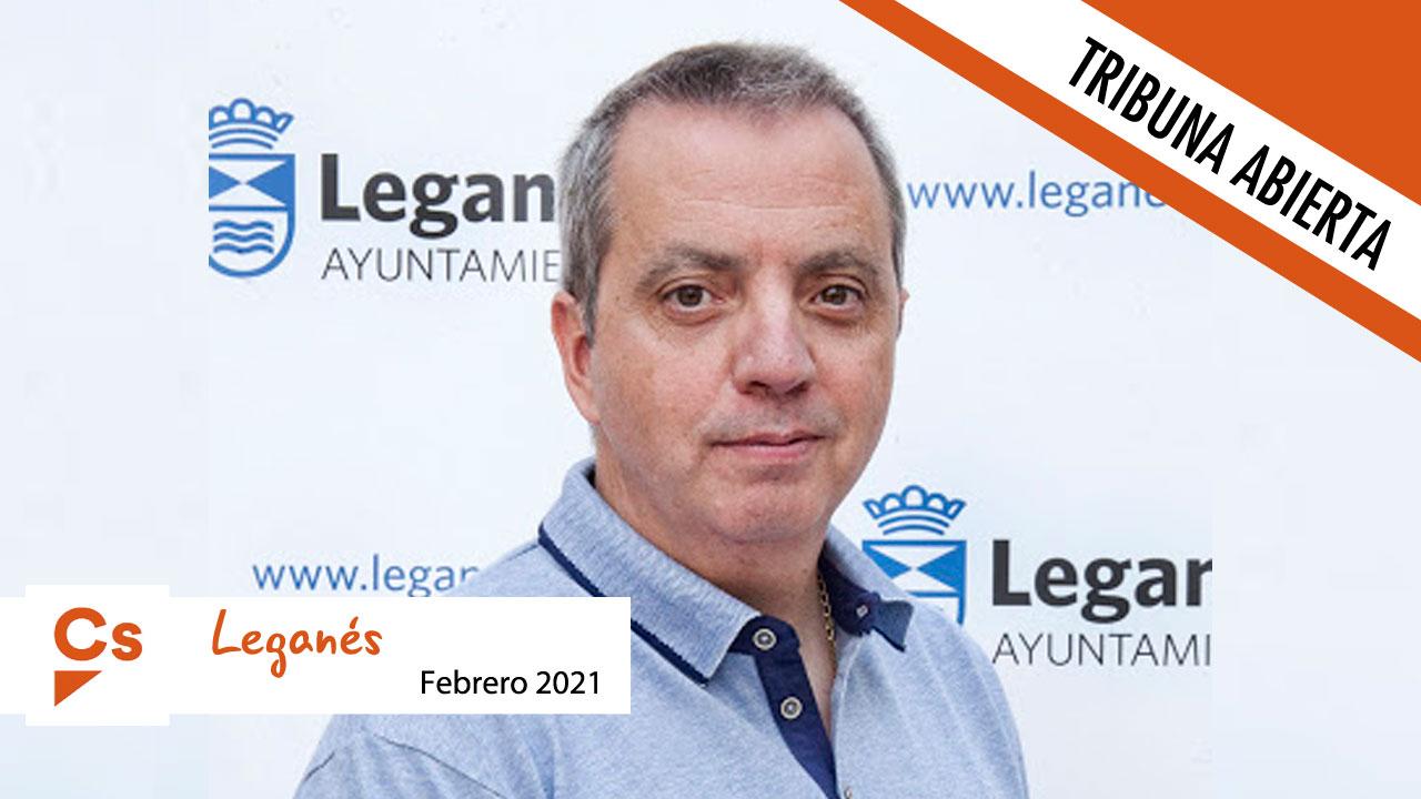 Opinión   El portavoz de Ciudadanos, Enrique Morago, alaba la crítica constructiva en Leganés