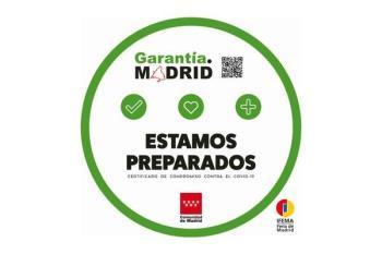La condecoración premia las buenas conductas de prevención del coronavirus en empleados y clientes