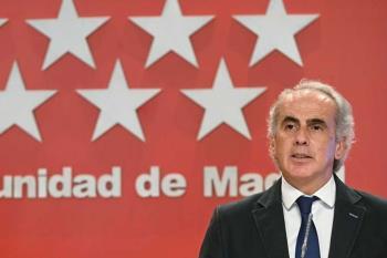El consejero de Sanidad de la Comunidad de Madrid, Enrique Ruiz Escudero, ha anunciado las medidas