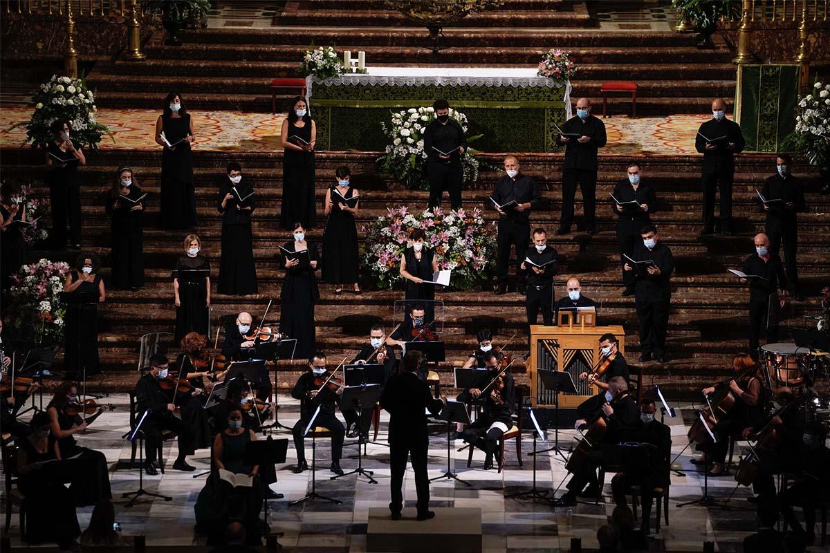 El acto central que ofreció la ORCAM fue el 'Réquiem' de Mozart
