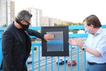 Esta pasarela se ha bautizado con el nombre de 'Corazón Partío' en reconocimiento al artista