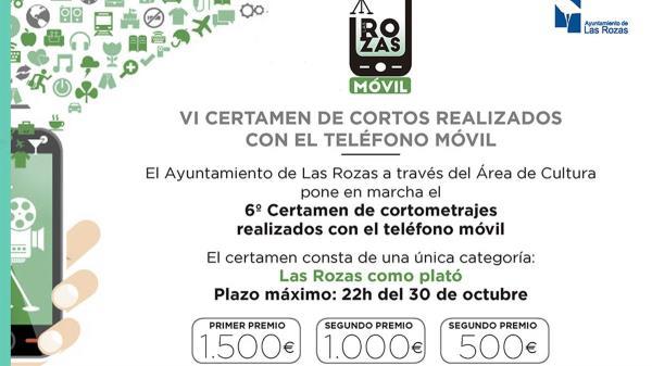 El Ayuntamiento de Las Rozas a través del Área de Cultura ha puesto en marcha el certamen móvil con grandes premios