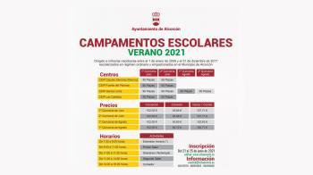 Las actividades se llevarán a cabo en cuatro colegios de Alcorcón entre lo meses de julio y agosto