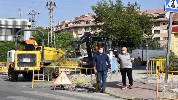 Con una inversión de 1.280.000 euros se va a reformar un total de 11.412 metros cuadrados de aceras y a eliminar barreras arquitectónicas