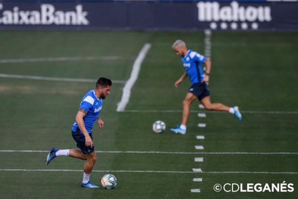 Los futbolistas continuarán ejercitándose de manera individualizada
