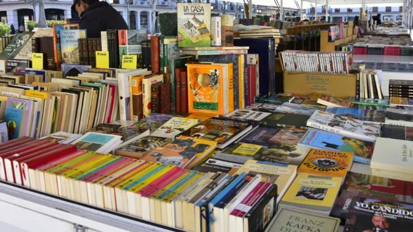 Continúa la Feria del Libro Usado y de Ocasión de Torrejón de Ardoz