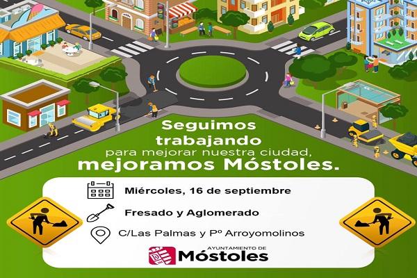 Los autobuses serán desviados hasta la finalización de las obras en estas avenidas