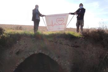 Un año más, la asociación hace una marcha por los Cerros de Alcalá para colocar su belén