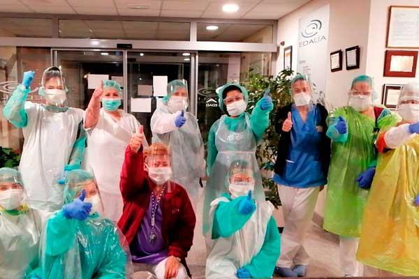 Coronavirus: las residencias de mayores reciben material de protección