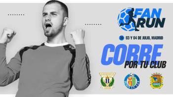 Participa en esta carrera virtual organizada por el Fuenla, el Lega y el Getafe