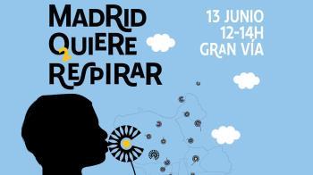 Madrid Respira ha organizado una manifestación en la que asociaciones de vecinos, ecologistas AMPAs reclamarán que se mantenga la medida medio ambiental