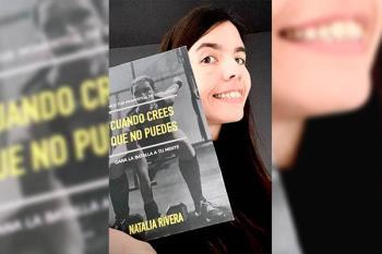 Natalia Rivera se animó a escribirlo y está siendo todo un éxito