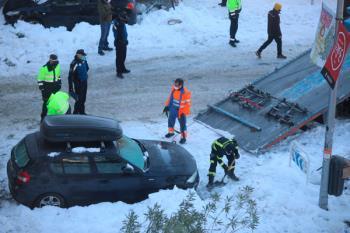 Un total de 1.343 vías se han despejado de nieve tras las labores de limpieza acometida desde el fin del temporal