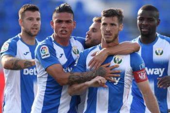 El Leganés gana 1-0 ante el Valencia en Butarque