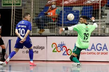 El de Alcorcón anotó el tanto de la esperanza para un Valdepeñas que cayó ante el Inter