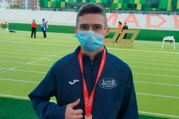 El deportista getafense logró un salto de 11.37 en la competición regional