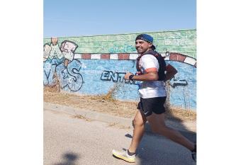 El atleta perteneciente al club Cervantes finalizó en buena posición la prueba madrileña recorriendo una distancia de 20 kilómetros
