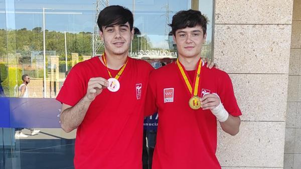 Gabriel Molina logró un bronce en la categoría -87 kg