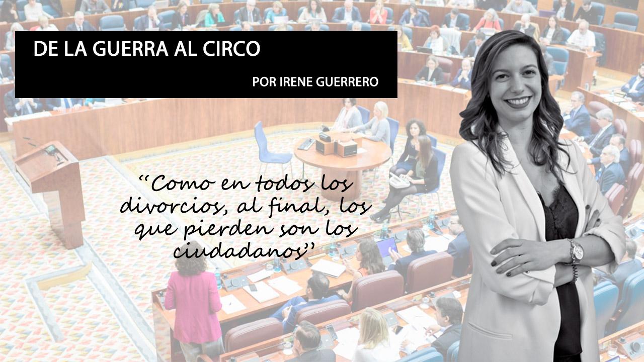 Opinión | Artículo de opinión de Irene Guerrero sobre el adelanto electoral en la Comunidad de Madrid