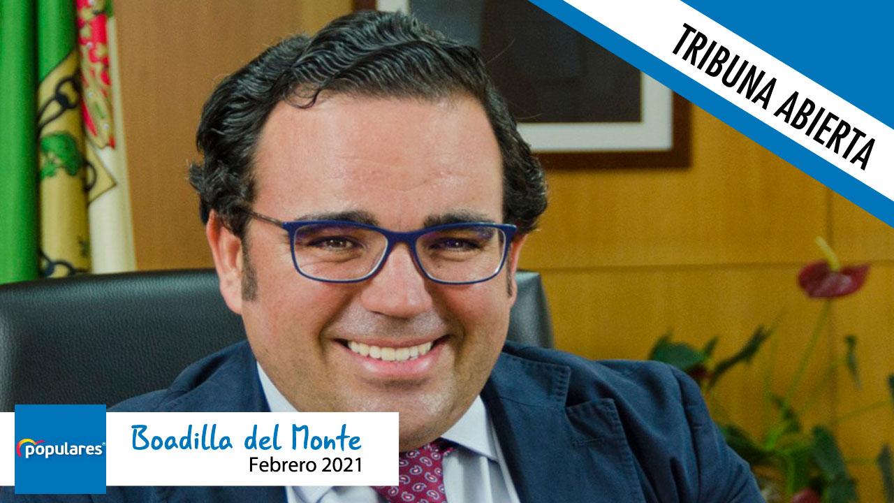 Opinión | El líder del PP de Boadilla, Javier Úbeda, agradece la colaboración ciudadana tras Filomena