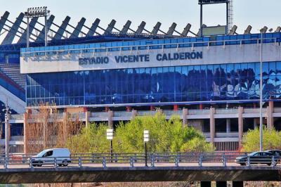 Lee toda la noticia 'El Vicente Calderón dice adiós definitivamente'
