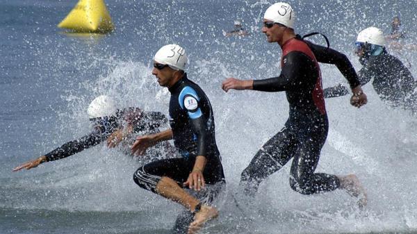 Los deportistas participaron en Triatlón y Relevos.