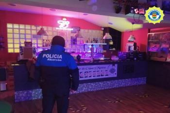 Policía Municipal y Nacional realizaron labores de prevención y vigilancia por el municipio