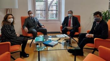 Encuentro entre la UAH y la Unión Interprofesional de la Comunidad de Madrid