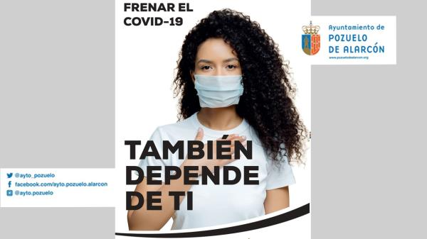 Descienden los casos de coronavirus en Pozuelo de Alarcón un 17,5 %