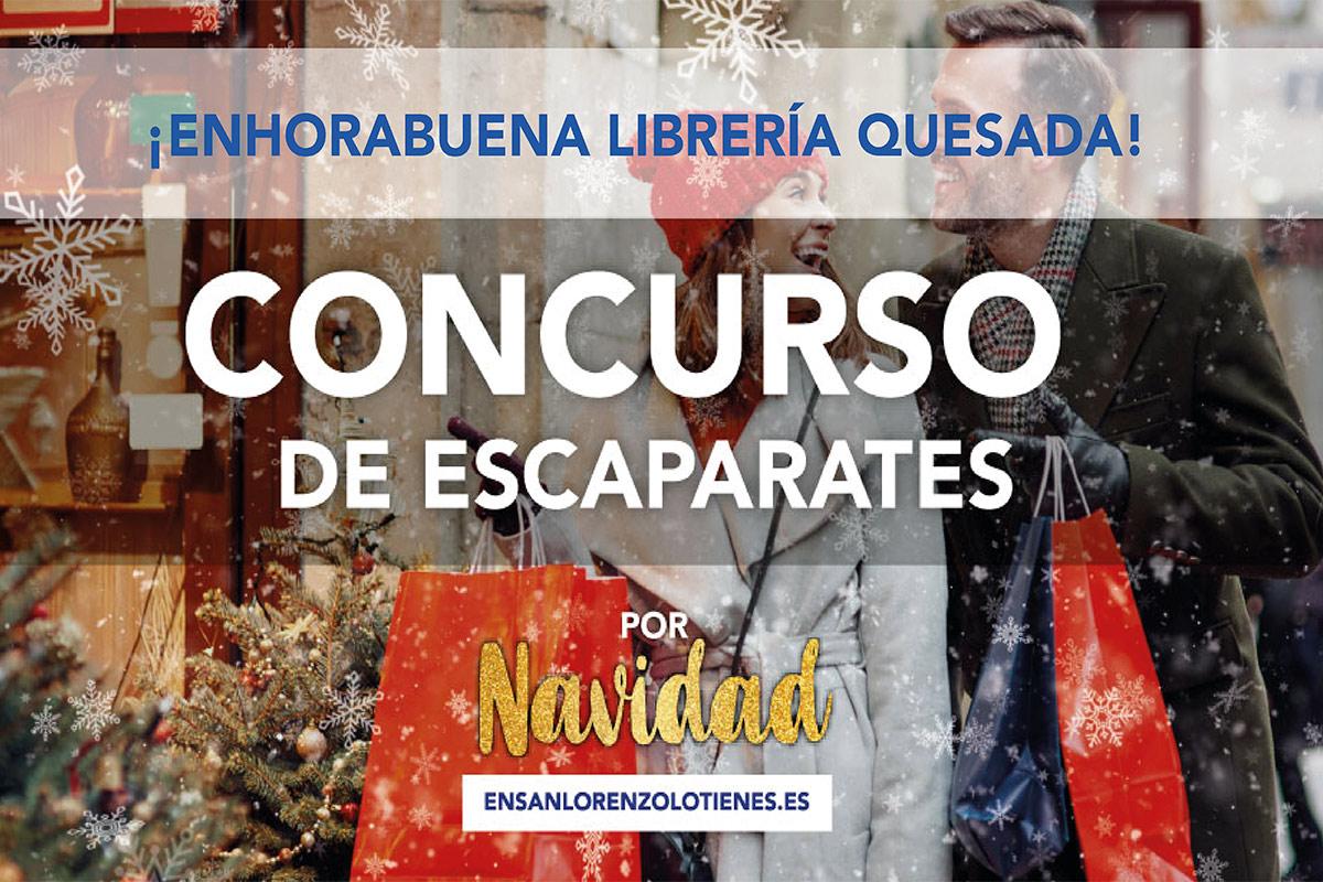El Ayuntamiento ha publicado los ganadores del certamen 'Por Navidad, en San Lorenzo LO TIENES'