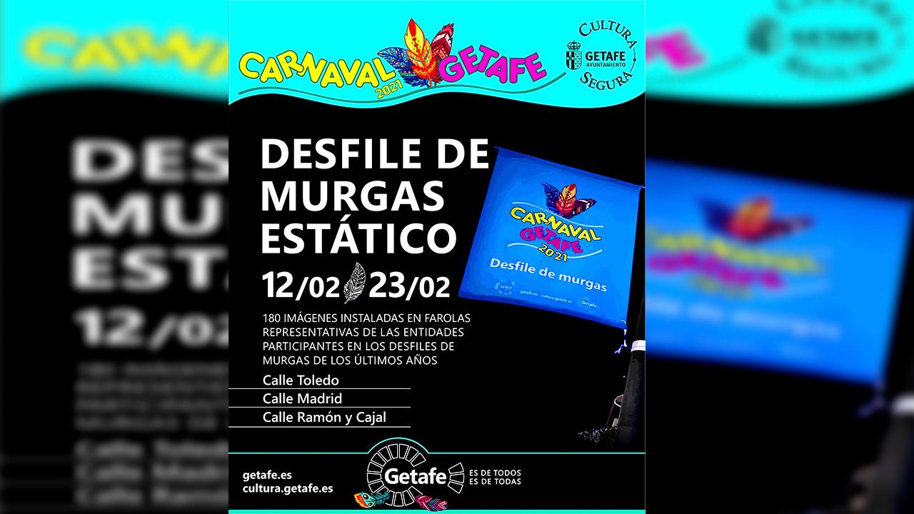 Getafe propone numerosas actividades para disfrutar del Carnaval 2021