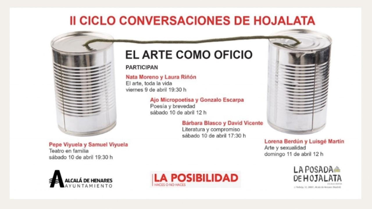 Alcalá de Henares presenta la II Edición del Ciclo de Conversaciones de Hojalata