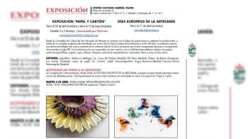 San Fernando de Henares inaugura su programa cultural con la muestra
