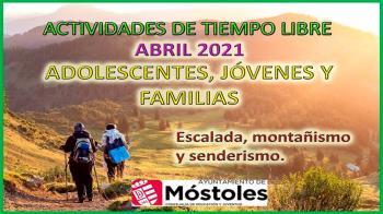 Móstoles presenta un nuevo programa para el mes de abril