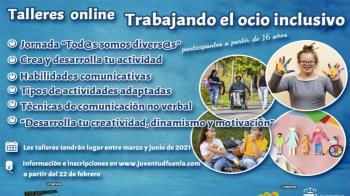 Fuenlabrada presenta talleres sobre ocio inclusivo para jóvenes
