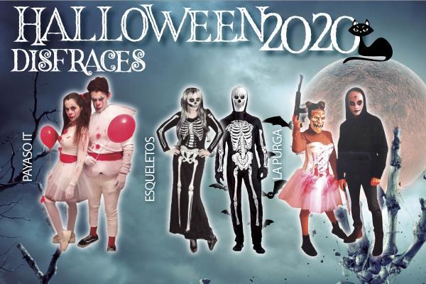 Descubre tres ideas para disfrazarte en Halloween 2020